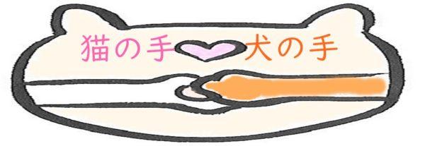 猫の手犬の手